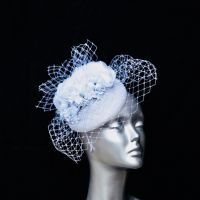 White bridal hatinator 15019/SD253